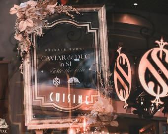 Caviar de Đuc in Si Private Event - Taste the elite